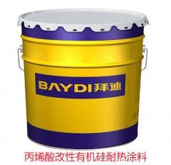 丙烯酸改性有机硅耐热涂料